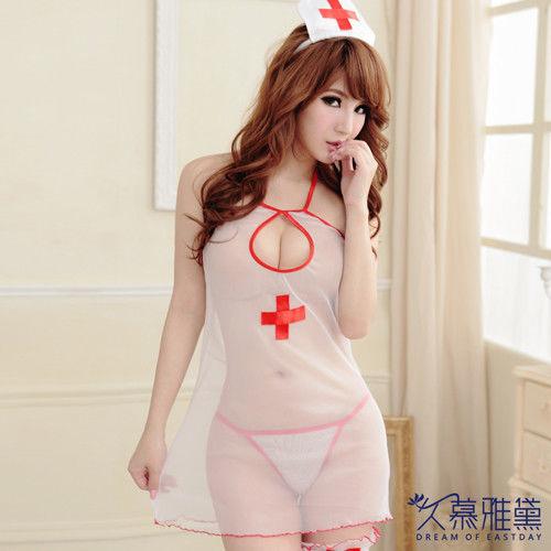 久慕雅黛 浪漫天使柔紗小護士角色扮演服