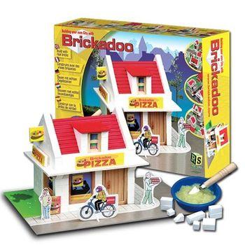 【荷蘭Brickadoo】益智建築玩具-行動