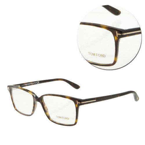 【TOM FORD】復古方形玳瑁色光學眼鏡(TF5311-052)