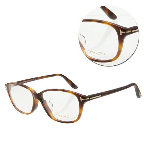 【TOM FORD】復古長方全框琥珀光學眼鏡(TF4316-056)