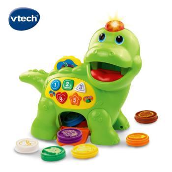 【Vtech】小恐龍餵食學習組