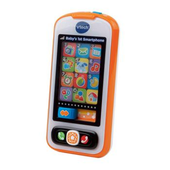 【Vtech】寶寶智慧型手機-橘色