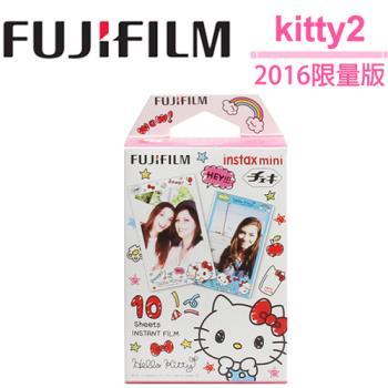 [3盒裝]FUJIFILM instax mini 拍立得底片(Kitty2-2016限量版)