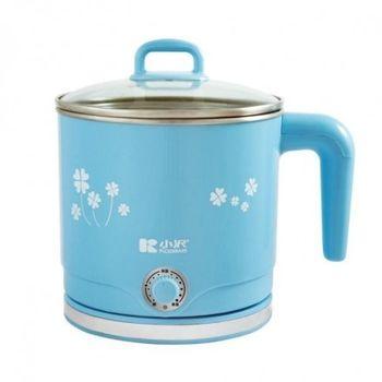 小澤2L防燙型不鏽鋼美食鍋 KW-111SG (藍)