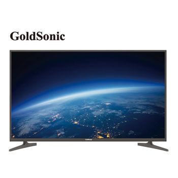 GOLDSONIC 43型4K連網LED液晶顯示器+視訊盒(43GS-4KC1)
