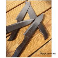 【SOYU】料理大師黑色夜霧馨花雕陶瓷刀【烏木柄】6吋