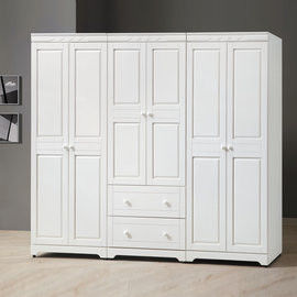 【時尚屋】[UZ6]維格白色8尺衣櫃UZ6-62-1