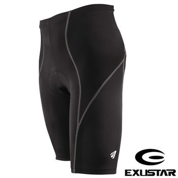 EXUSTAR 3D立體專業短車褲(灰) M