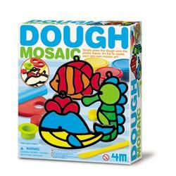 【4M】美勞創作系列  - 馬賽克黏土藝術(海洋) Dough Mosaic-Making Kit(Ocean) 00-04600