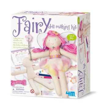 【4M】美勞創作系列 - 花精靈 Fairy Doll Making Kit 00-02732
