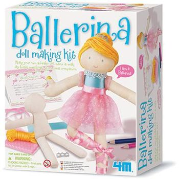 【4M】美勞創作系列 - 芭蕾舞者 Ballerina Doll Making Kit 00-02731