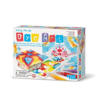 【4M】美勞創作系列 - 創意染紙藝術家 Easy-To-Do Dye Art 00-04631