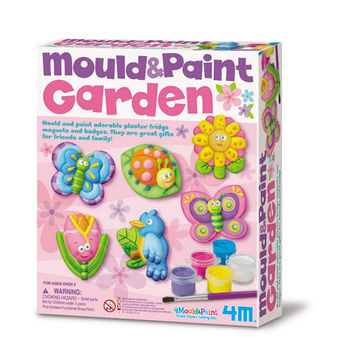 【4M】美勞創作系列 - 蝴蝶花園(磁鐵) Mould Paint / Garden 00-03512
