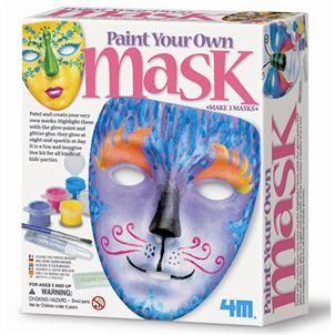 【4M】美勞創作系列 - 變臉三部曲 Paint Your Own Mask 00-04544