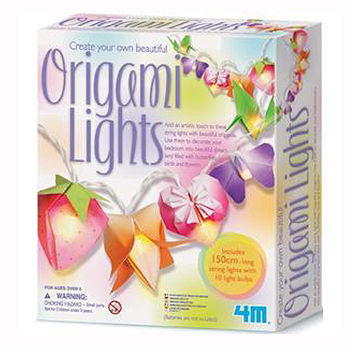 【4M】美勞創作系列 - 閃亮摺紙燈秀 Creat Your Own Beautiful Origami Lights 00-02761