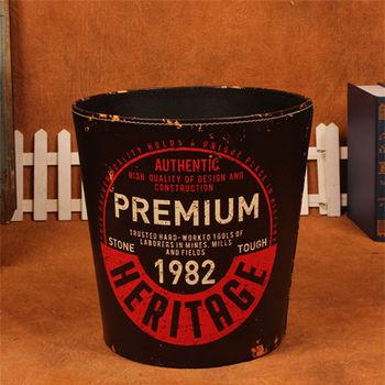 PUSH! 居家生活用品 復古1982垃圾桶 置物桶I41