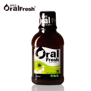 【Oral Fresh 歐樂芬】天然口腔保健液(300ml/瓶)