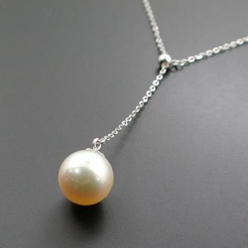 天然南洋珍珠項鍊/墜子 邦妮兒