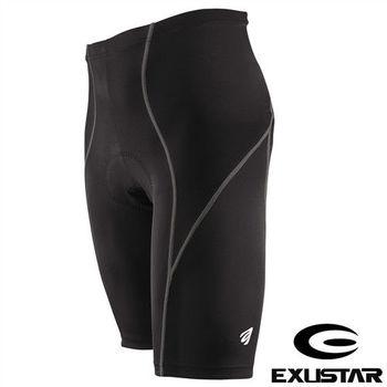 EXUSTAR 3D立體專業短車褲(灰) L