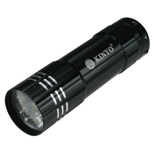 KINYO 9 LED 鋁合金手電筒 LED-800