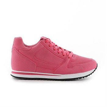 【TOP GIRL】內增高慢跑運動休閒鞋-共三色