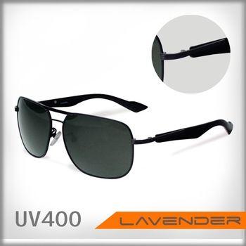 LAVENDER偏光太陽眼鏡1402C2 黑