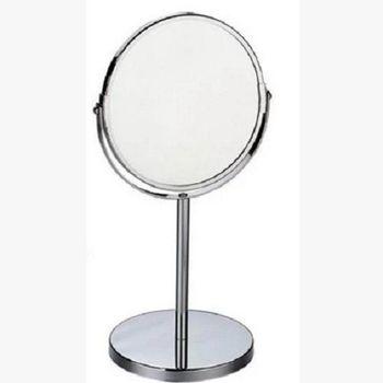 【協貿】歐式公主7寸雙面化妝鏡立鏡圓腳鏡梳妝鏡美容鏡