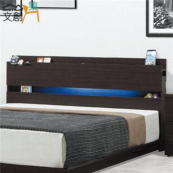文創集 歐蘭朵 5尺雙人床頭箱