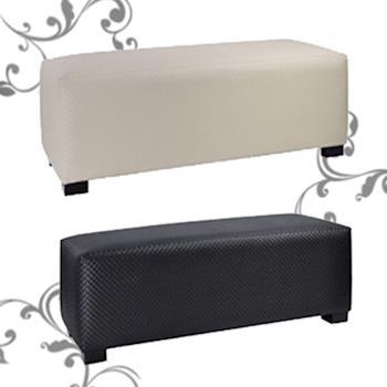 BuyJM精緻時尚編織床尾椅/穿鞋椅寬103公分-兩色可選
