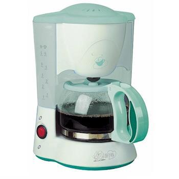 (福利品) 【獅子心】5杯份美式咖啡機(玻璃壺)LCM-815