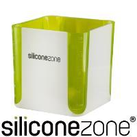 【Siliconezone】520ml施理康耐熱立方造型計量杯計量匙-綠
