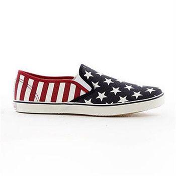 【美國 AIRWALK】星星條紋帆布鞋-女-共三色