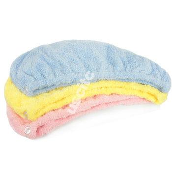 【神布開纖紗系列】輕柔開纖紗浴帽