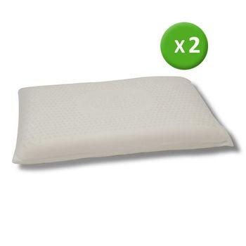 LooCa黃金舒鼾型乳膠機能枕(2入)