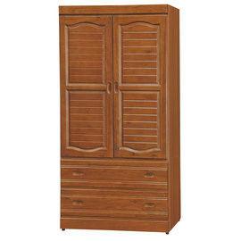 【時尚屋】[UZ6]富丞樟木色3x6衣櫥UZ6-127-6