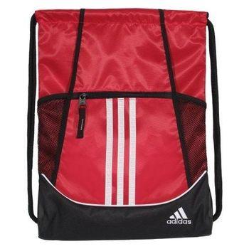 【Adidas】2016時尚聯盟紅色抽繩後背包(預購)