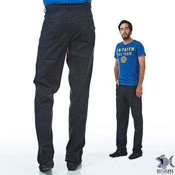 【NST Jeans】390(5462) 義式摩登 深灰帶藍休閒褲(中腰) 兩色可選 深灰帶藍/橄欖咖啡