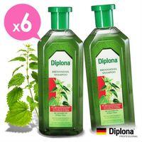 【德國Diplona】植萃大蕁麻養護洗髮精500mlx6入組(不含矽靈)