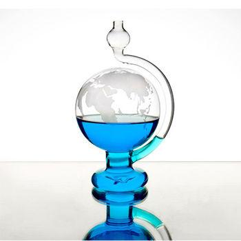 賽先生科學工廠|晴雨儀(玻璃氣壓球)-世界地圖版