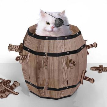 賽先生科學工廠|Cat barrel 瘋狂貓咪桶 (貓咪玩具屋)