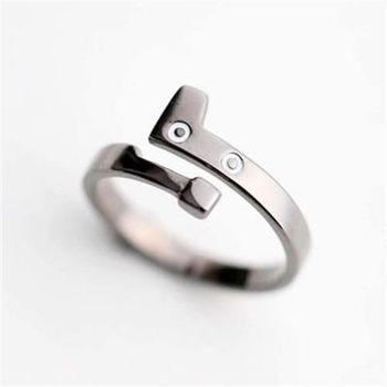 【米蘭精品】925純銀戒指銀飾黑貓造型可愛氣質