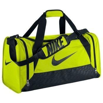 【Nike】2016時尚巴西利亞綠色中行李袋(預購)