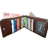 PUSH!長夾可放5吋手機皮夾信用卡包零錢包手機套手機包保護皮套PUSH15-1咖啡色