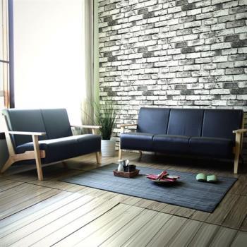 【YKSHOUSE】北歐良品2+3人座皮沙發