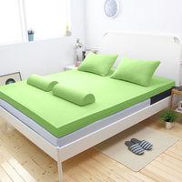 輕鬆睡-EzTek  波浪面竹炭感溫釋壓記憶床墊{雙人加大10cm}繽紛多彩2色