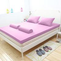 [輕鬆睡-EzTek]全平面竹炭感溫釋壓記憶床墊{單人6cm}繽紛多彩3色