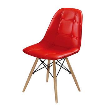【AT HOME】迪妮皮餐椅(4色可選)