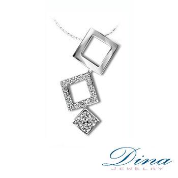 DINA JEWELRY 蒂娜珠寶『香檳』系列 天然真鑽造型項鍊