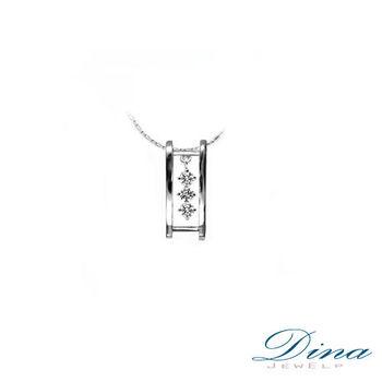 DINA JEWELRY 蒂娜珠寶『搖曲』系列 天然真鑽造型項鍊