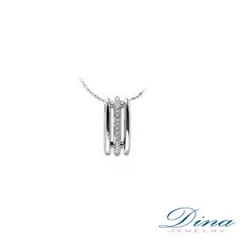 DINA JEWELRY 蒂娜珠寶『月老』系列 天然真鑽造型項鍊